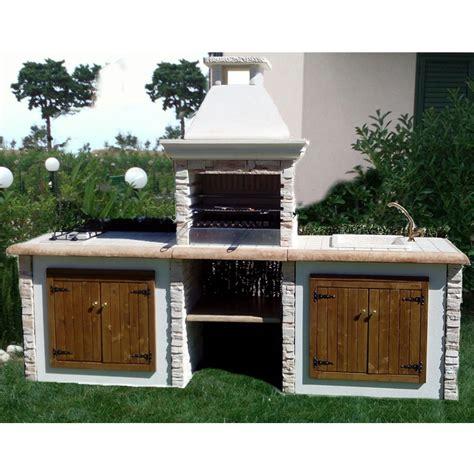 cucine da giardino in muratura cool barbecue favignana with cucine da giardino in muratura