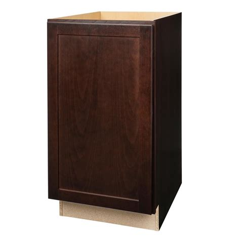 Affordable Home Decor Online Hampton Bay Shaker Assembled 18x34 5x24 In Pull Out Trash