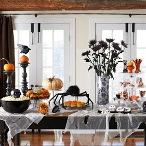halloween home decoration 43 cool halloween table d 233 cor ideas digsdigs