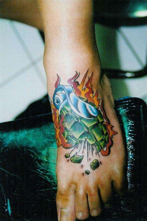 tattoo hand grenade hand grenade tattoo meaning