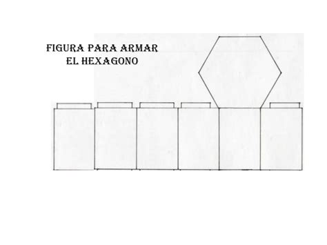 figuras geometricas rectangulo para armar figura para armar el hexagono