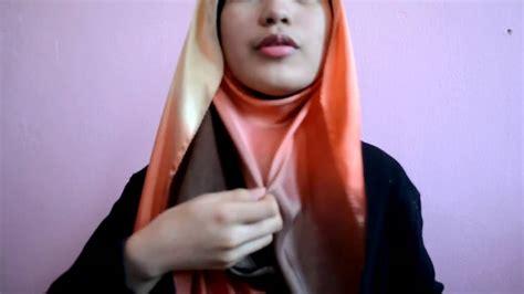 tutorial hijab pashmina satin youtube tutorial hijab 2013 satin shawl tutorial youtube