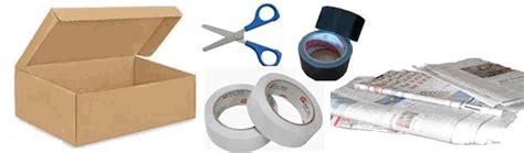 Bahan Kotak 2 kotak tisu dari kertas bekas cara membuat alat dan