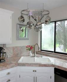 kitchen sinks ideas corner kitchen sink design ideas
