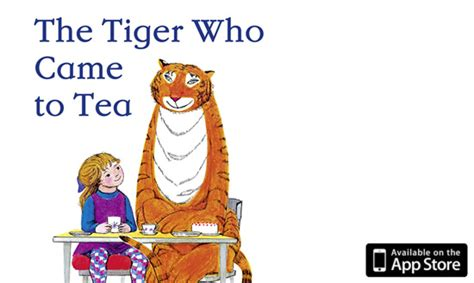 the tiger who came the tiger who came to tea ibook storybook apps