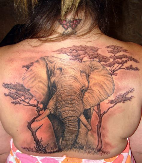 elephant tattoo on back 1000 images about tattoo s and body art on pinterest