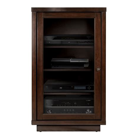 Audio Cabinet by Audio Component Cabinet Espresso
