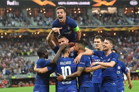 chelsea hammer arsenal    win  europa league final