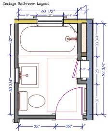 cottage talk bathroom layout and inspiration design