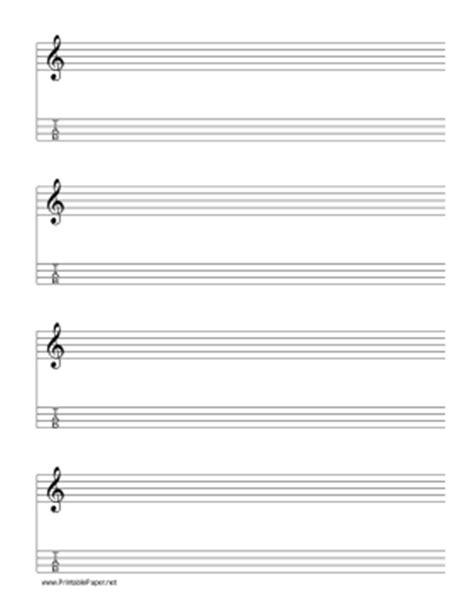 modified staff paper with treble clef in g major devenir musique
