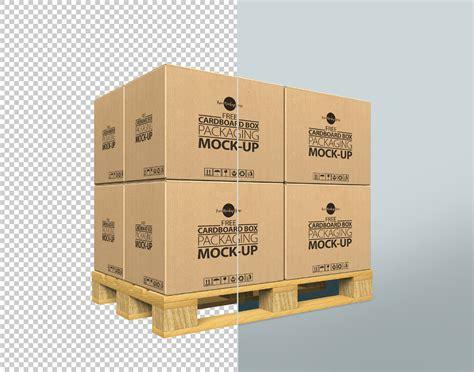 Cardboard Box Mockup Free Psd Template Responsive Joomla And Wordpress Themes Cardboard Box Design Templates