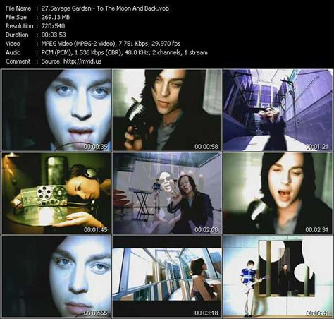 To The Moon And Back Savage Garden - savage garden and feat savage
