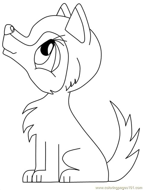 Wolf Coloring Pages Free Coloring Home Coloring Pages Of A Baby Wolves For
