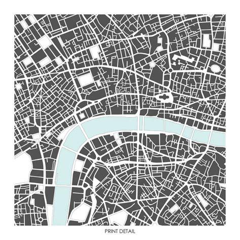 libro literary london a street image gallery london map art