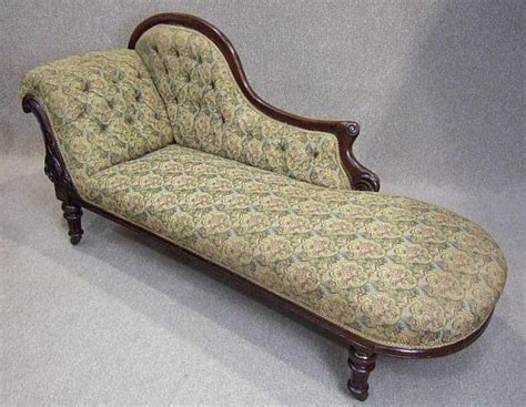 victorian chaise lounge victorian mahogany chaise lounge