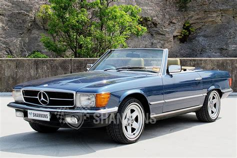 convertible mercedes mercedes 380sl convertible auctions lot 16 shannons