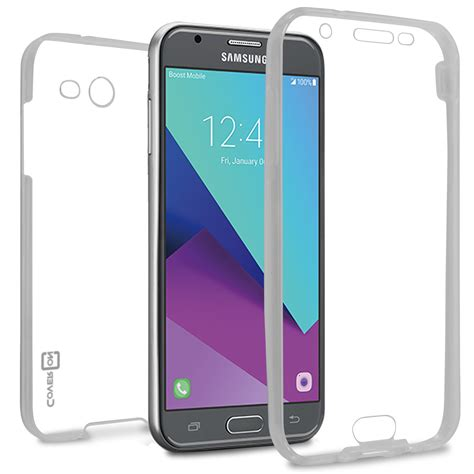 for samsung galaxy j3 emerge j3 2017 prime 2 j3 prime cover clear ebay