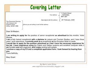 where to put address on cover letter how to write a cv and a covering letter
