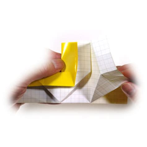How To Make A Paper Submarine - how to make an easy origami submarine page 11