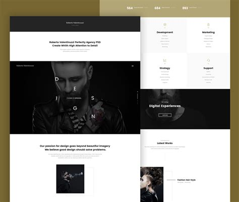 portfolio templates for photoshop portfolio template psd for creative agencies download