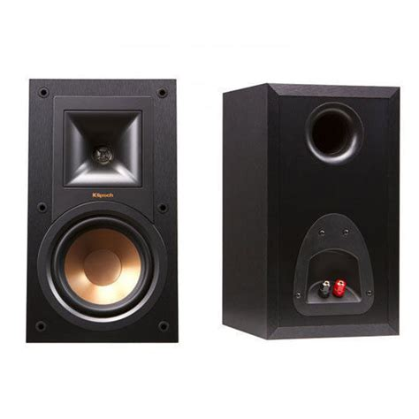 klipsch r 15m 85w bookshelf speaker pair for surround