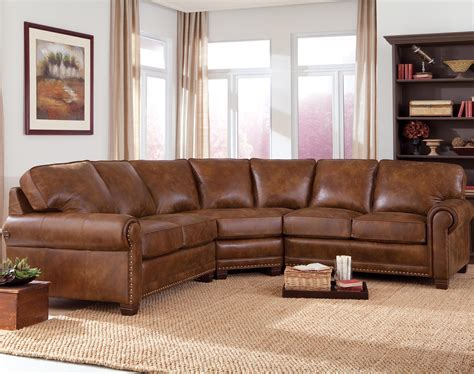 Brown Sectional Wonderful Sectional Couches With Leather Sofas Decor In