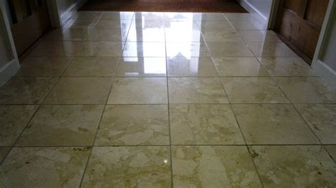 cleaning polishing marble floor tiles in petersfield