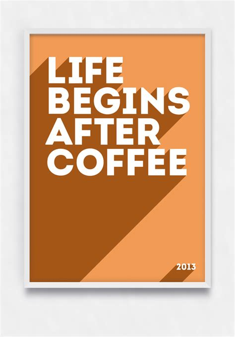 flat design poster vector free psd poster for coffee lover free psd vector icons