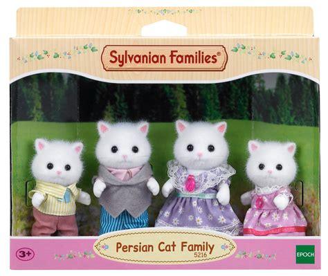 sylvanian families cat family sylvanian families cat family set multi colour