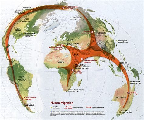 migration map modern human migration through south arabia
