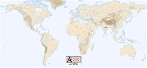 world map showing rivers world atlas the rivers of the world narmada narbada