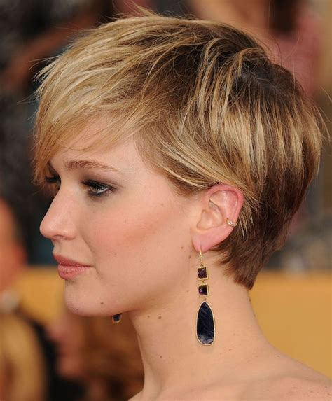 pin jennifer lawrence haircut 2014 short on pinterest 773 best images about pixies and short hair ideas on
