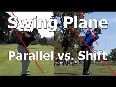 parallel swing plane golf swing plane lesson learn the difference between a