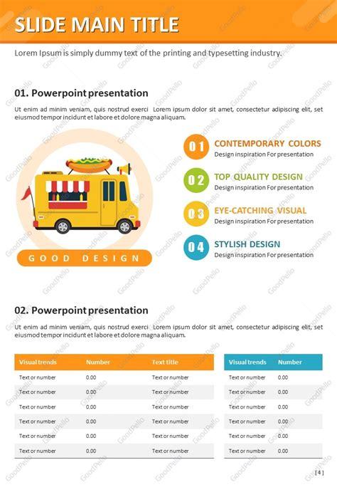 Food Truck Ppt Vertical Goodpello Food Truck Powerpoint Templates