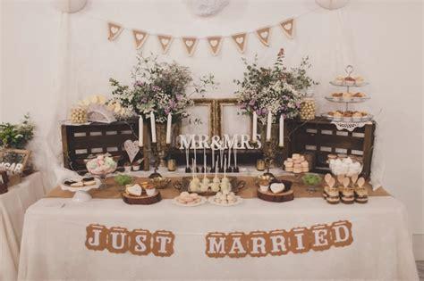 mesas de dulces para bodas c 243 mo decorar la mesa de dulces de la boda mesas candy