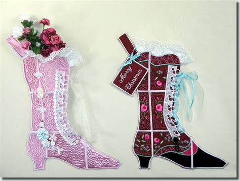 free pattern for victorian christmas stocking bfc0626 quilt in the hoop christmas stocking v