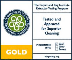 carpet and rug institute seal of approval truckmount steam extraction for cleaning services