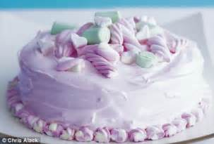 The Home Decorating Store Frosted Marshmallow Cake Daily Mail Online