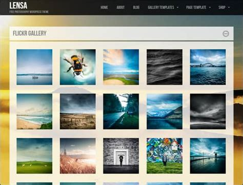 wordpress gallery themes time show
