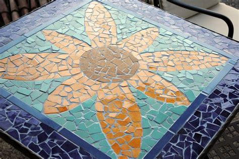 diy ceramic tile ceramic tile mosaic table top diy project