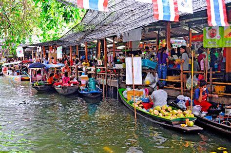 floating markets  bangkok     reach