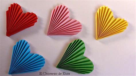 manualidades decorar habitacion diy decora tu habitaci 243 n con corazones de papel