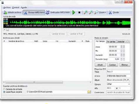 cortar un audio como cortar o separar audio
