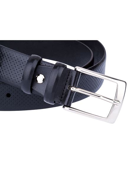 Perforated Belt buy s perforated leather belt leatherbeltsonline