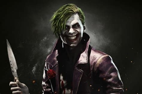 imagenes de joker injustice the joker confirmed for injustice 2 as new gameplay