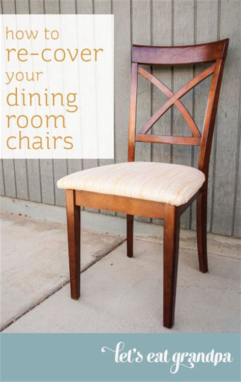 how to re cover your dining room chairs hey let s make