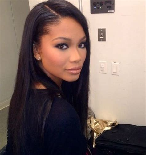 straight sew in hairstyles chanel iman december 1 1990 atlanta georgia united
