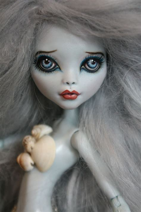 doll repaint ooak custom high doll repaint with quot nessie