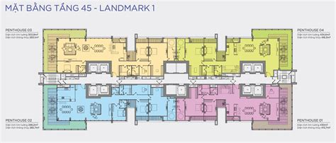 penthouse layouts layout 45f penthouse landmark 1 vinhomes central park