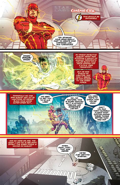 the flash vol 1 lightning strikes rebirth preview the flash vol 1 lightning strikes all